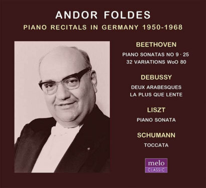 Andor Foldes Piano Recitals in Germany 1950-1968 CD Release Meloclassic 2020