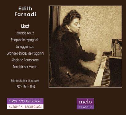 Edith Farnadi Liszt Recital 1957-1968 Meloclassic