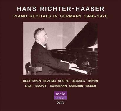 Hans Richter-Haaser Piano Recitals in Germany 1948-1970 CD Release Meloclassic 2020
