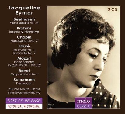 Jacqueline Eymar Radio Broadcast 1958-1972 Meloclassic