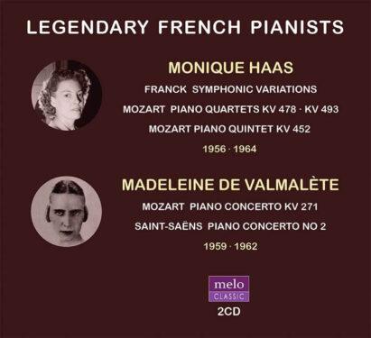 Madeleine de Valmalète & Monique Haas CD Release Meloclassic