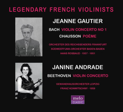 Jeanne Gautier · Janine Andrade · CD Release Meloclassic 2019