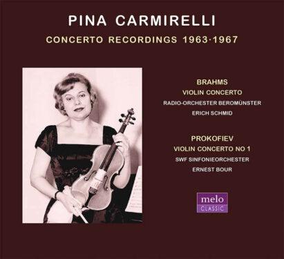 Pina Carmirelli CD Release Meloclassic 2020