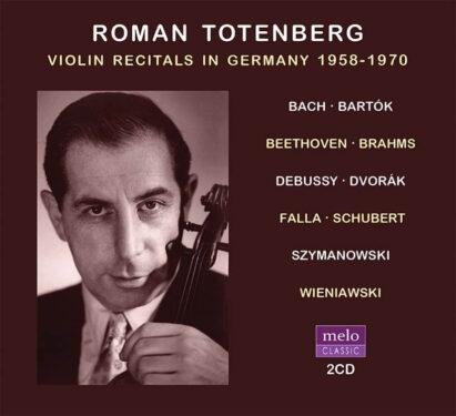 Roman Totenberg CD Release Meloclassic 2020