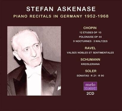 Stefan Askenase CD Release Meloclassic 2020