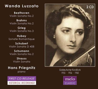 Wanda-Luzatto German Radio Broadcast 1955-1960 Meloclassic